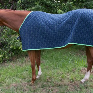Quilted Satin Under Rug